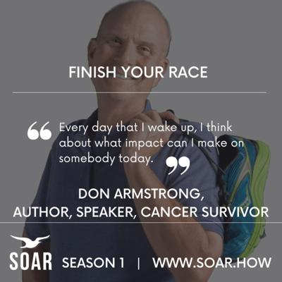 Cover art for Finish Your Race: Strategies from a Cancer Survivor