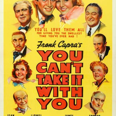 Cover art for Cinema Cemetery: Episode 12- You Can't Take It With You (1938)