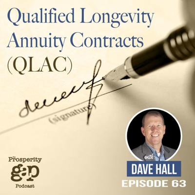 Cover art for Episode 63: Qualified Longevity Annuity Contracts (QLAC)