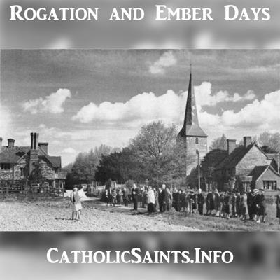 Cover art for Rogation Days and Ember Days