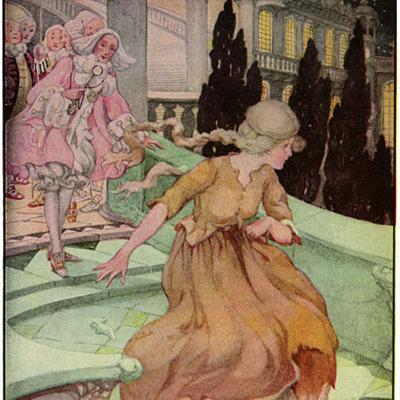 Cover art for Cinderella retold by Miss Mulock