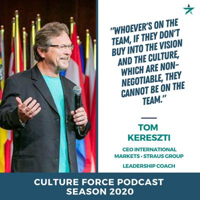 Cover art for Foreign workplace Culture and building teams with Tom Kereszti (CEO, Speaker, Author)