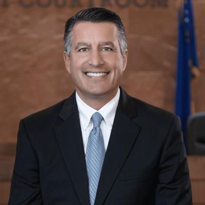Cover art for University of Nevada President Brian Sandoval: his vision and legislation affecting Nevada higher education