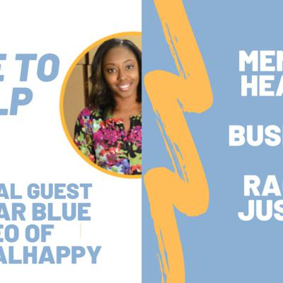 Cover art for Here To Help You Through It 🧑🏾🤝🧑🏼 with the CEO of MentalHappy