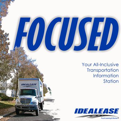Idealease presents your commercial transportation information station. Join us as we focus on success, improving your own performance, and helping you better serve your customers.