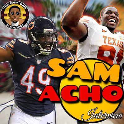 Cover art for NFL FREE AGENT SAM ACHO INTERVIEW!! + University Of Texas Recruiting Story + Free Agency + The Growing Nigerian Presence In League