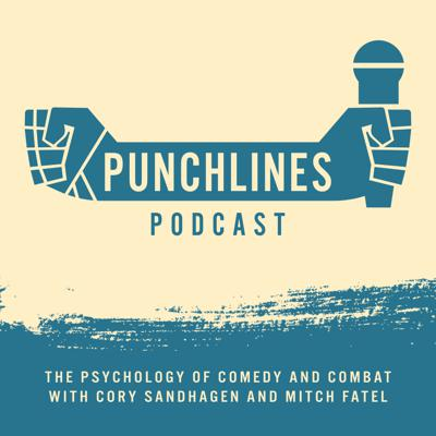 Mitch Fatel, veteran stand-up comedian, has teamed up with #4 UFC bantamweight fighter, Cory Sandhagen, to bring you a fresh new podcast exploring the intersecting worlds of MMA and stand-up comedy. Each week Cory and Mitch interview either a comedian or a fighter and delve into what makes these unique human beings tick.                                                                                          On the surface they may seem like vastly different animals, yet when closely explored, we find they are strikingly similar and inextricably linked. While one is trying to kill their opponent the other is trying to kill an audience. Both have the potential to be rewarded with adulation, respect and great riches. More often than not, both incur epic failures, public embarrassment and harsh judgements from audiences. Why would anyone in their right mind choose a profession like this? Every Tuesday a new episode will answer this question.