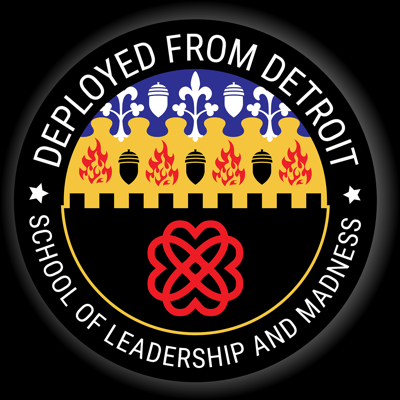 The School of Leadership and Madness is a production of Deployed From Detroit. DFD is a US Veteran owned and operated non-profit that is dedicated to buttressing local communities' capabilities in communication, education, and the development of experience. DFD/SLM is a raw cut Livestream experience with few produced pieces to date. In accordance with the missions of Deployed From Detroit, the School of Leadership and Madness can be graphic and jarring or a hint boring, it all depends on the topic. Each presenter is a Veteran or close friend of a Veteran and Veterans alike, each is allowed to speak as they will and we just see what happens from there. Covering comprehensive leadership instruction that can help you lead your teams through this sh** show, or leadership skills have been tested and are good enough to get you started. We go into detail about dealing with mental health, what it looks like, and some aspects of how it works. We also discuss movies, poetry, politics, suicide, PTSD, addiction, and just about everything under the sun. Leading people means knowing people, and fixing crazy means knowing yourself. It turns out that's a pretty broad range of topics. Our apologies to any recruiters, we're sure you can