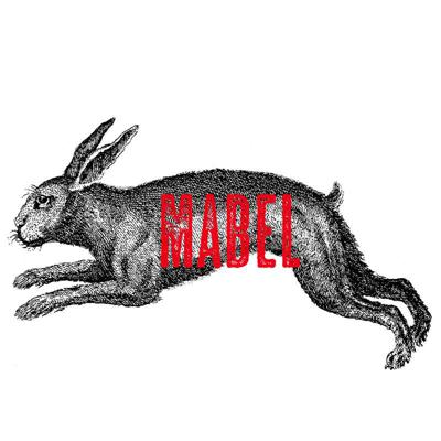 Cover art for Mabel - 'The Letters' & 'Really Red'