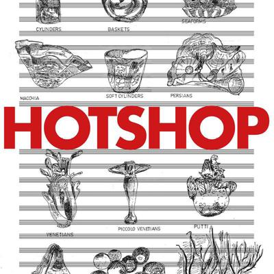 Cover art for 'Hotshop' by Barry Guy