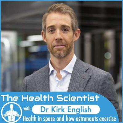 Cover art for Ep.45 Kirk English: Health in space and how astronauts exercise