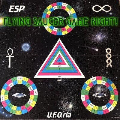 Cover art for Flying Saucer Game Night