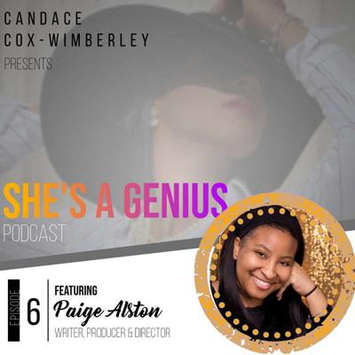Cover art for S2E6 - Lights, Camera, Action: Following Your Creative Path with Award Winning Television Filmmaker Paige Alston