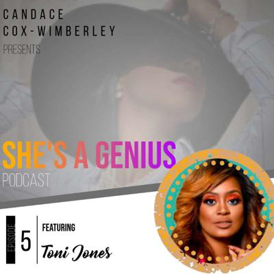 Cover art for S1E5 - Enhance Self Love Through Affirmations with Toni Jones