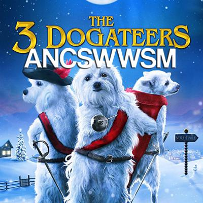 Cover art for Festive Aggressive Puppers (The Three Dogateers)