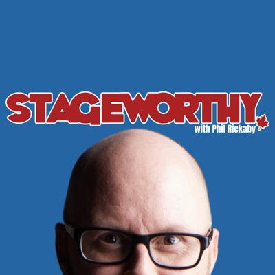 Stageworthy is a weekly podcast featuring intimate and knowledgeable discussions about art and theatre in Canada. In each episode, host Phil Rickaby talks to theatre artists from different disciplines, about their careers, creative process, and what drew them to the theatre in the first place, from actors to directors to playwrights to stage managers and more. Stageworthy is like chatting with your very knowledgeable theatre friends about the state of theatre in Canada. Episodes arrive every Tuesday, with bonus episodes now and then.