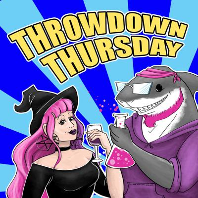 Throwdown Thursday is a weekly show centered around the characters in the films, books, TV, comics and more that we love, and love to hate! Patsy the Angry Nerd and Ashes von Nitemare talk-along with an occasional guest- about what impact that week's character has had on their lives, pop culture, and society as a whole. Those characters are then placed in a battle scenario in which they showcase their skills and talent against a similar opponent and the winner is decided by listener voting. Shows also include Patsy's Science Facts and The von Nitemare Vineyard Wine Recommendation!