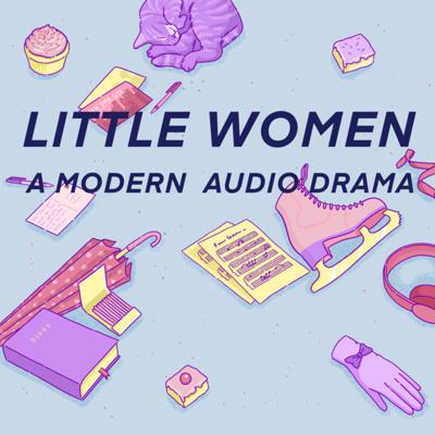"""""""Little Women: A Modern Audio Drama"""" is written by Shannon Campe, based on the novel by Louisa May Alcott. It's co-produced by Shannon Campe and Sammi Campbell.   Edited by Bex Carlos & Directed by: Julia Rohed-Worthington, and features music by Suri Music and album artwork by Karen Mooney.   Find us online at www.littlewomenpodcast.com."""