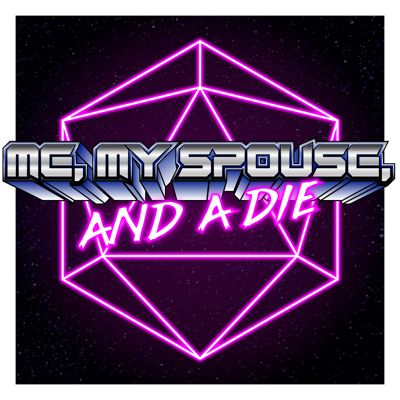 Me, My Spouse, and a Die is a D&D Duet campaign where a wife and husband sit down to play a custom game in a custom world one on one. Using the Dungeons & Dragons 5e system, Austin, our Dungeon Master, guides Gwenyth, our only player, through a family-friendly adventure in a world of their own creation. With a healthy mix of immersive roleplay, intriguing exploration, and adrenaline-pumping combat, Me, My Spouse, and a Die captures the spirit of the game, where anything could change with the roll of a die!