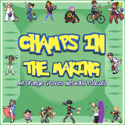 From the hosts of several podcasts at The Orange Groves Podcast Network comes the best idea for a podcast of all time: Champs in the Making. With a revolving table of voices, we'll use a bracket to find the best Pokémon of all.