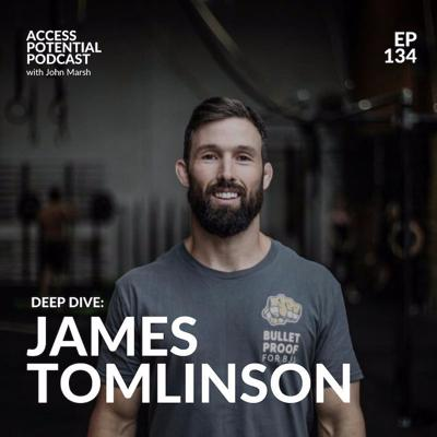 Cover art for #134 James Tomlinson: Shipping Your Projects & Making a Difference