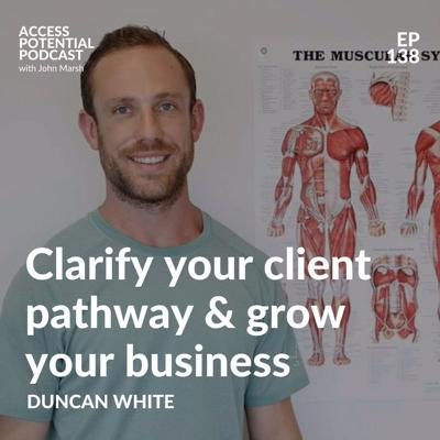 Cover art for #138 Clarify your client pathway and grow your business