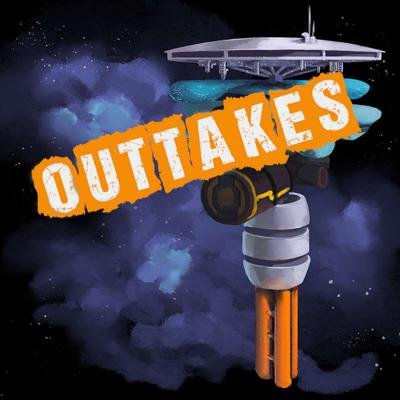 Cover art for Outtakes: Space Steaks (and some announcements!)