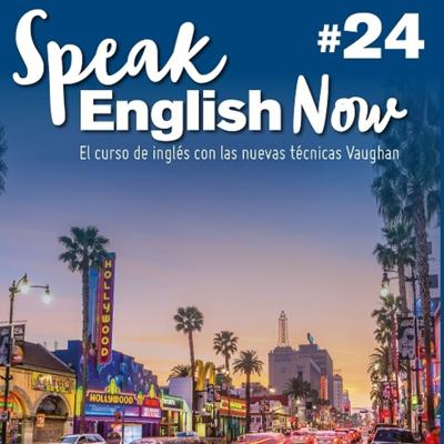 Cover art for Speak English Now By Vaughan Libro 24