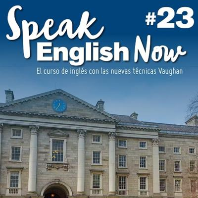 Cover art for Speak English Now By Vaughan Libro 23