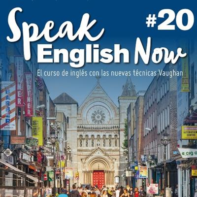 Cover art for Speak English Now by Vaughan Libro 20