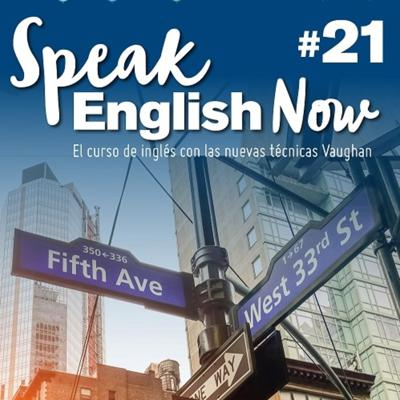 Cover art for Speak English Now by Vaughan Libro 21