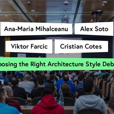Cover art for Choosing the Right Architecture Style Debate