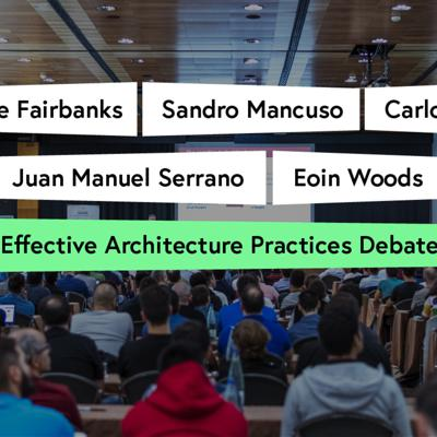 Cover art for Effective Architecture Practices Debate