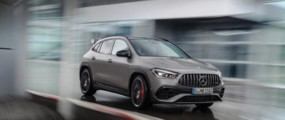 Cover art for The new Mercedes-AMG GLA 45 4MATIC+.