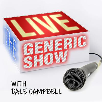 """Cover art for The Generic Live Show - 05-05-2019 - """"Slippin' And Slidin' Around The World"""""""
