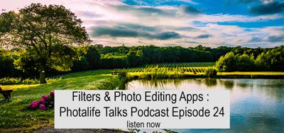 Photalife Unfiltered  - a podcast for photography, instagram and social media.