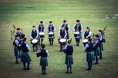 Cover art for Silver Thistle Pipes and Drums
