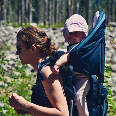 Cover art for Episode 109 Lessons Learned From Hiking And Backpacking With a Baby