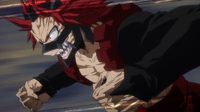 "Cover art for My Hero Academia s4e68: ""Let's Go, Gutsy Red Riot""!"