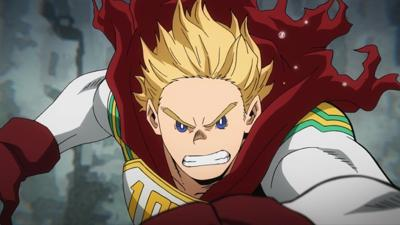 "Cover art for My Hero Academia s4e74: ""Lemillion""!"