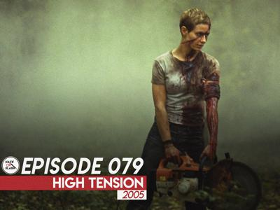Cover art for 079: High Tension (2005)