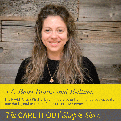 Cover art for Episode 17: Baby Brains and Bedtime
