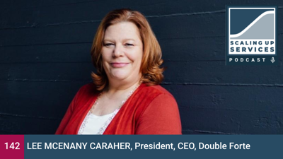 Cover art for Lee McEnany Caraher, President, CEO, Double Forte