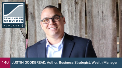 Cover art for Justin Goodbread, Author, Business Strategist, Wealth Manager