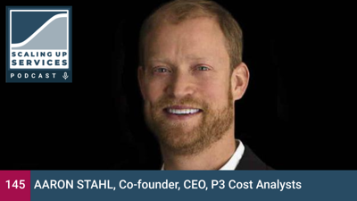 Cover art for Aaron Stahl, Co-founder, CEO, P3 Cost Analysts