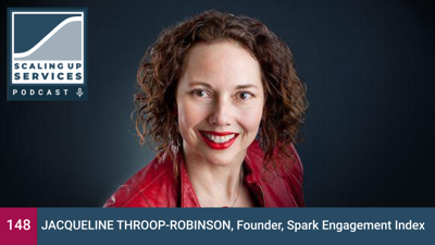 Cover art for Jacqueline Throop-Robinson, Founder, Spark Engagement Index