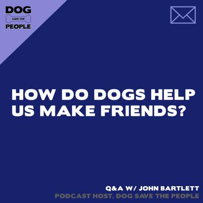 Cover art for Q&A - How Do Dogs Help Us Make Friends?