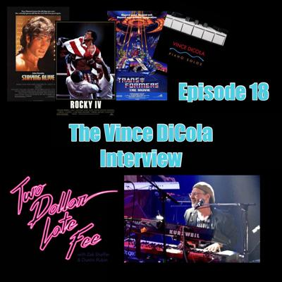 Cover art for Episode 18: The Vince DiCola Interview