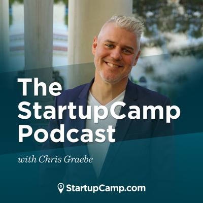 Each week, we deliver advice from some of the greatest thought leaders, entrepreneurs, and influencers. Tune in to a show created for the startups, entrepreneurs, and everyday dreamers that want to learn how to form strong ideas, launch lucrative ventures, position their brand, love their people, and develop business models that offer freedom to their founders.   Your host, Chris Graebe, is a multi-million dollar e-commerce entrepreneur, a former reality show star, and a man passionate about seeing people win in life and in business.  *To suggest a guest for our show, or host Chris on your show, please email lauren@startupcamp.com.