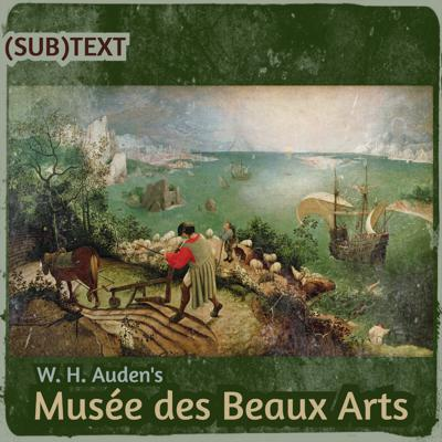 "Cover art for The ""Human Position"" of Suffering in W. H. Auden's ""Musée des Beaux Arts"""